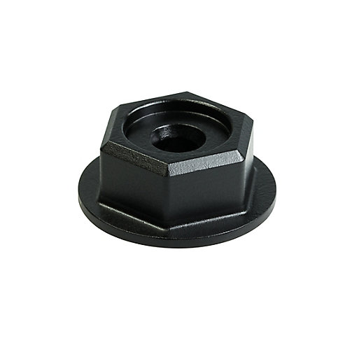 Outdoor Accents Black Powder-Coated Hex-Head Washer (8-Qty)