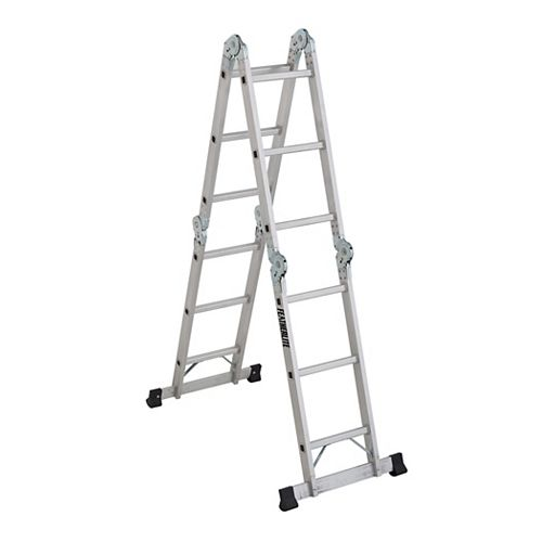 6 ft. to 12 ft. Articulating Extension Ladder