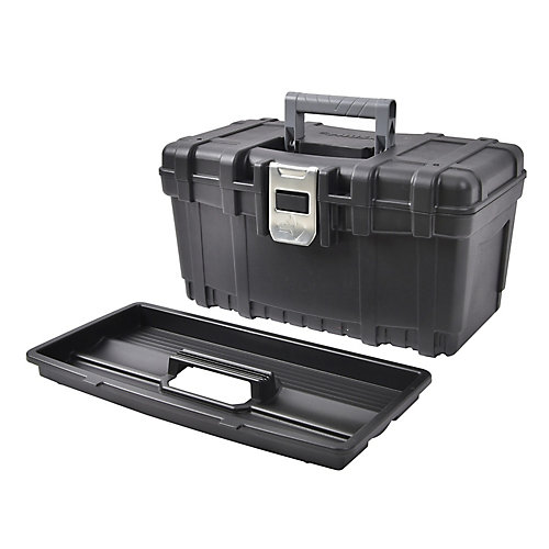16-inch Tool Box with Metal Latch