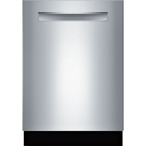 Bosch 800 Series - 24 inch Dishwasher with Flexible 3rd Rack - CrystalDry - Pocket Handle