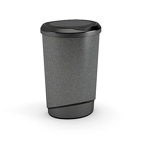 47L Tondo Touch  Waste Bin, Granite