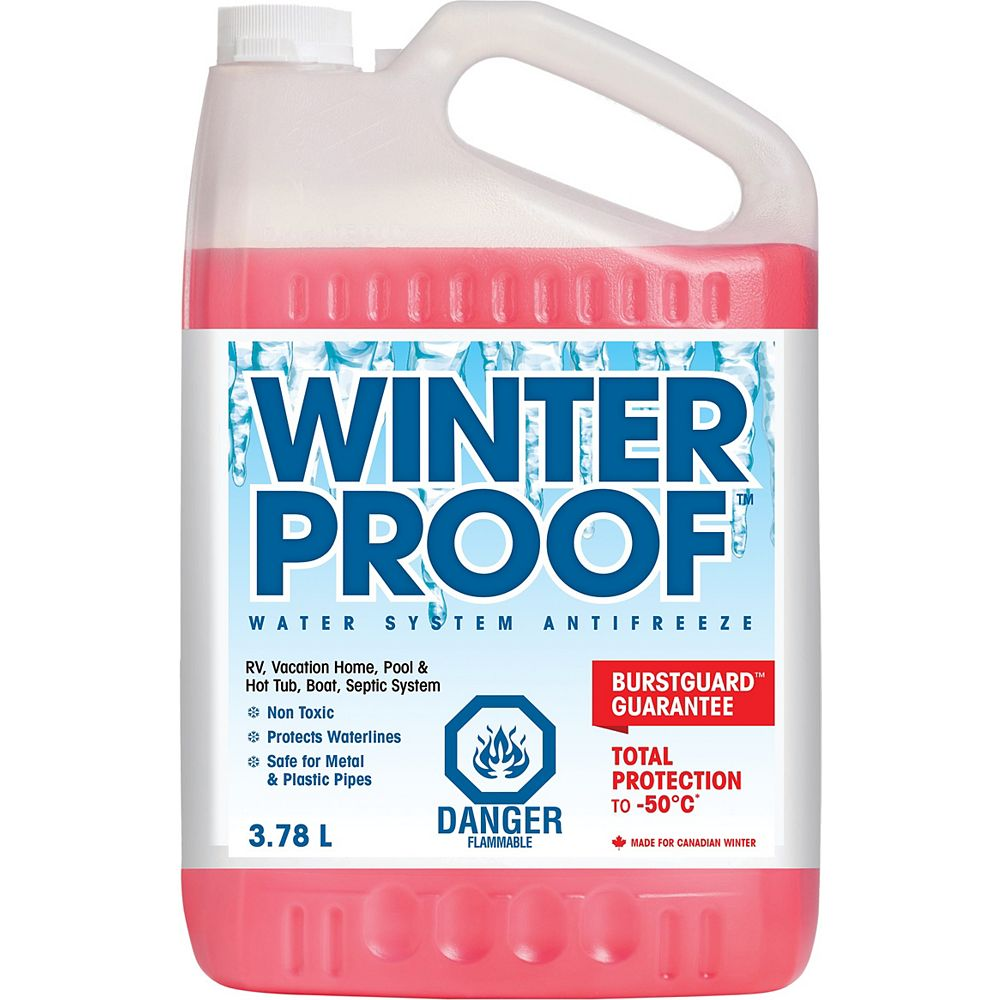 Winterproof Water System Antifreeze 3 78 L The Home Depot Canada