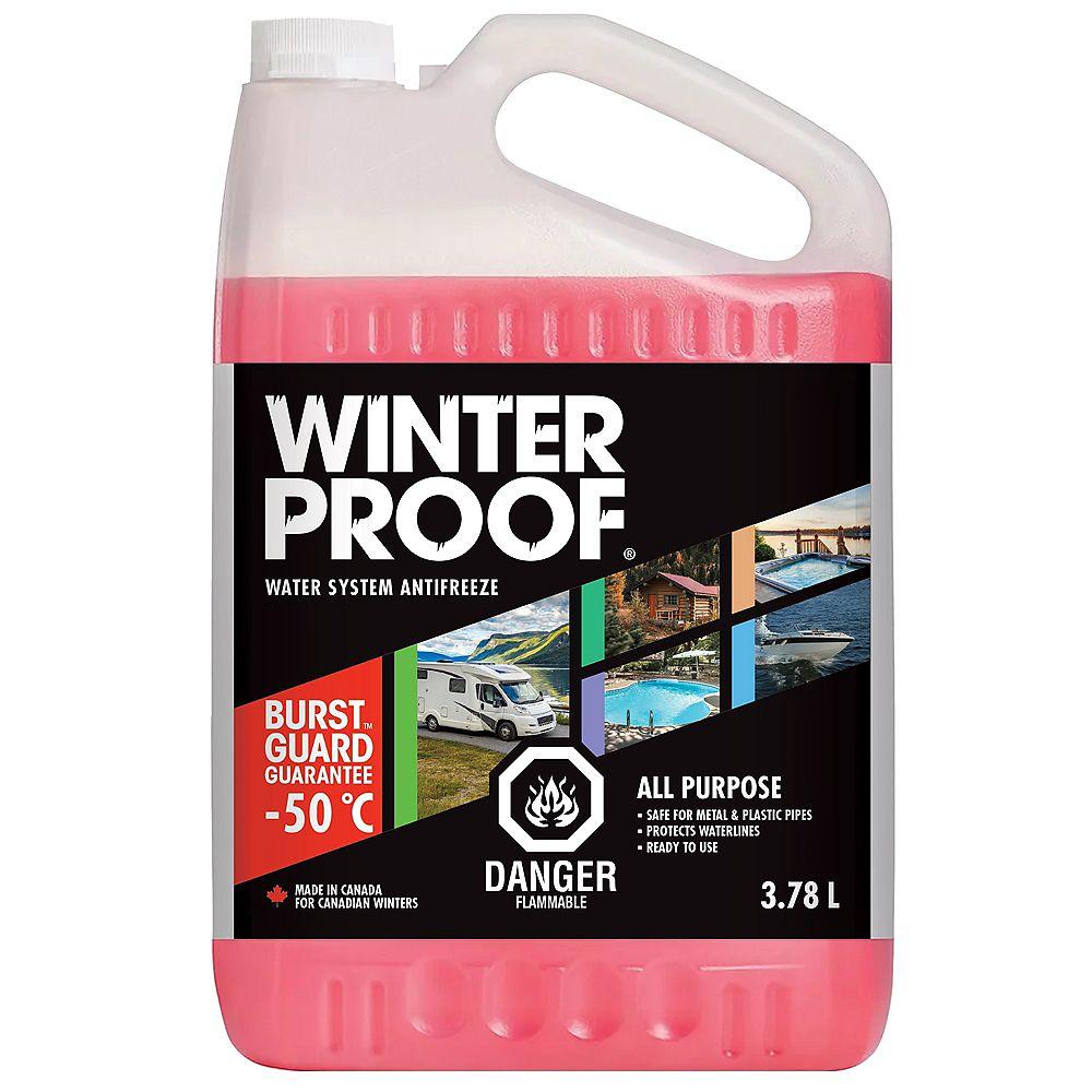 Winterproof Antigel Pour Système D'eau 3,78 L