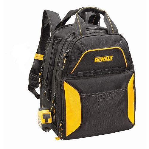 DEWALT 33-Pocket USB Charging Tool Backpack