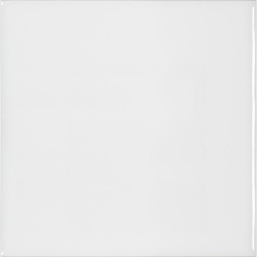 Metro White Gloss 6-inch x 6-inch Wall Tile