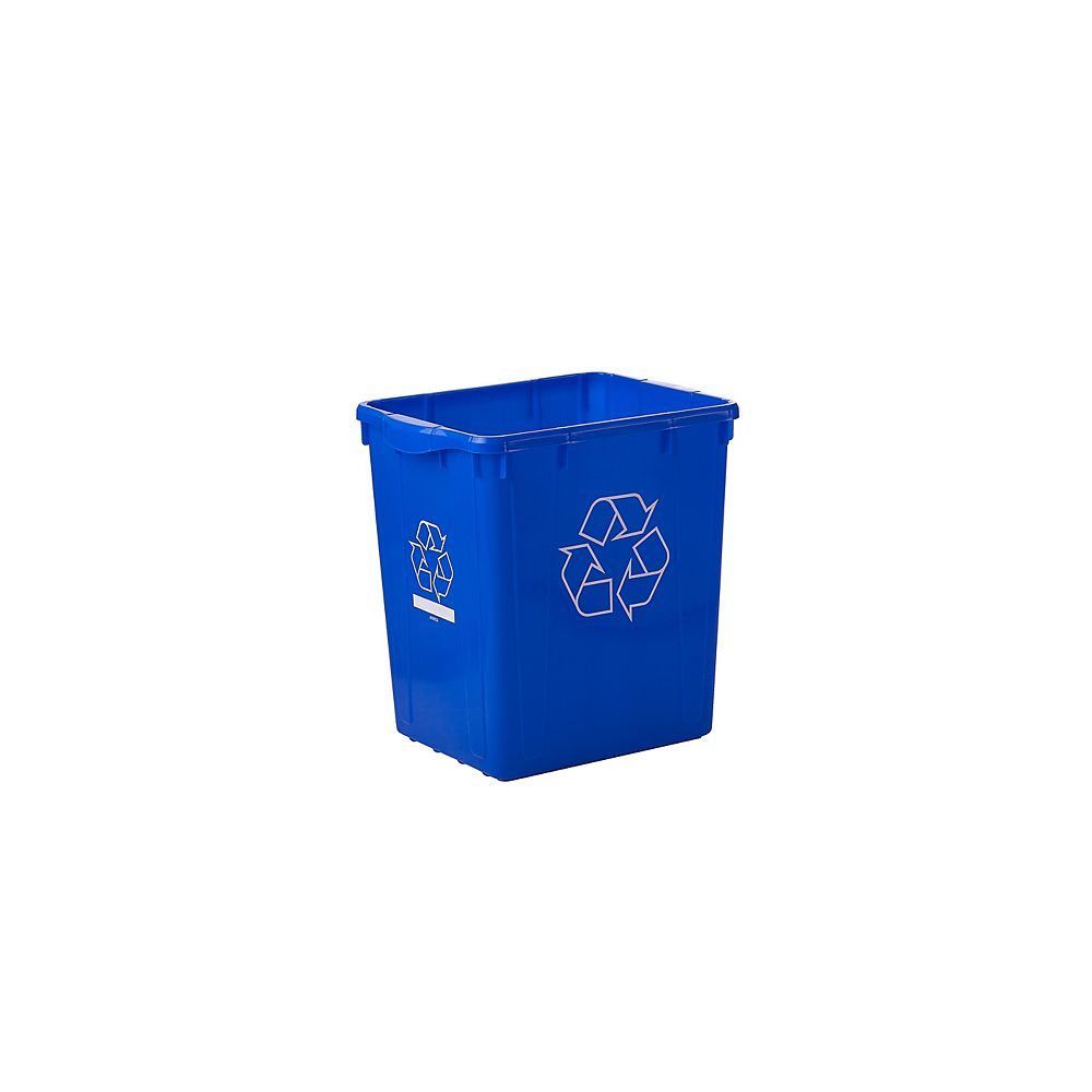 Nova Products 83 L (22-Gallon) Curbside Recycle Bin