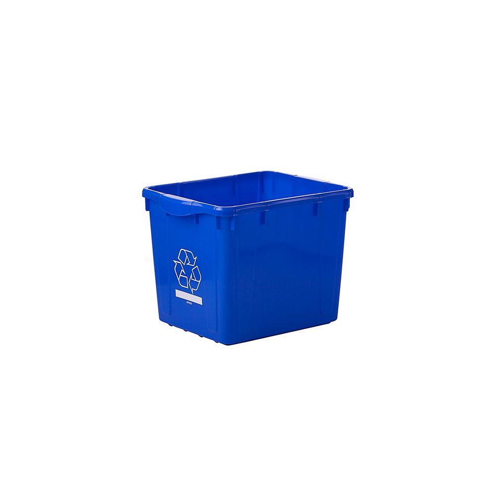 Nova Products Bac à Recyclage - 16 Gallons
