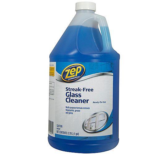 Nettoyant pour vitres sans stries de 3,78L