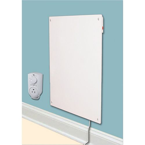 600w with Plug-in Thermostat Electric Panel Room Heater