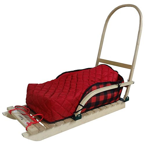Grizzly Heritage sled with bootie pad