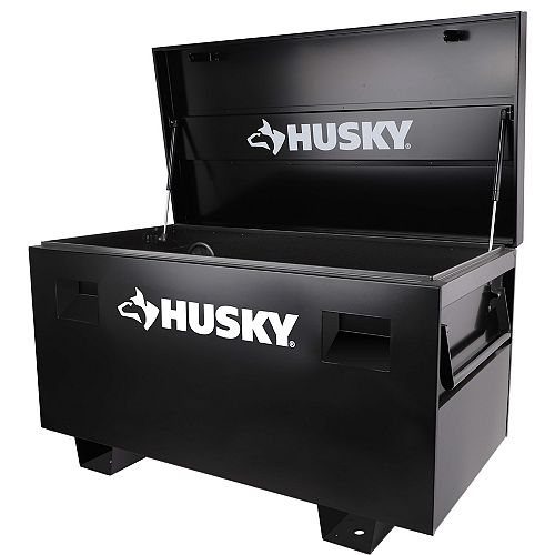 Husky 48-inch Heavy-duty Job Site Storage Box in Black