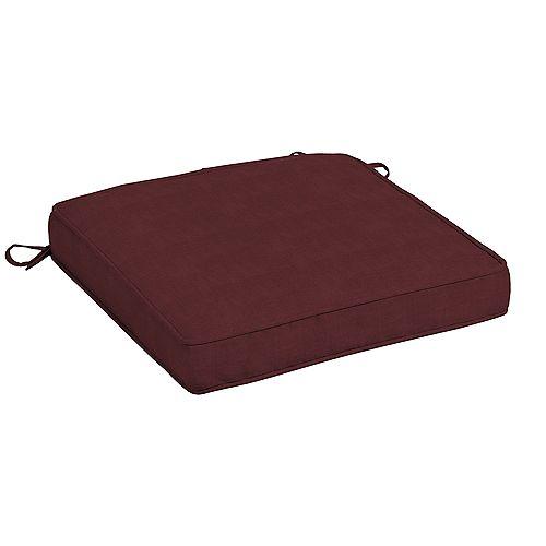 CushionGuard Aubergine Outdoor Seat Cushion