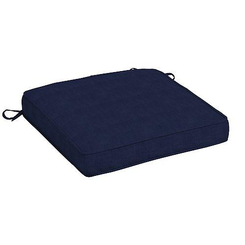 CushionGuard  Midnight Square Seat Cushion