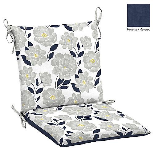 Exposition de fleurs coussin de chaise