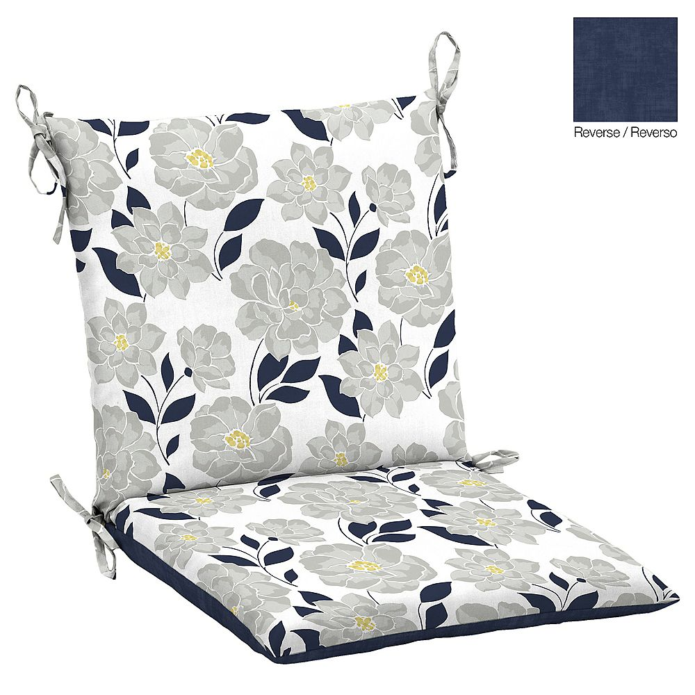 Hampton Bay Flower Show Dining Chair Cushion