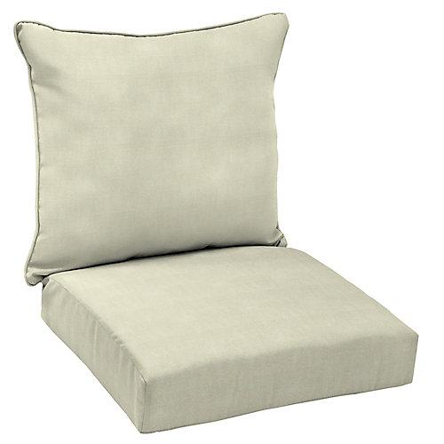 CushionGuard Couleur gruau coussin de siège profond