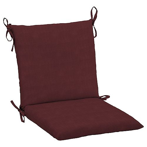 CushionGuard Aubergine Outdoor Dining Chair Cushion