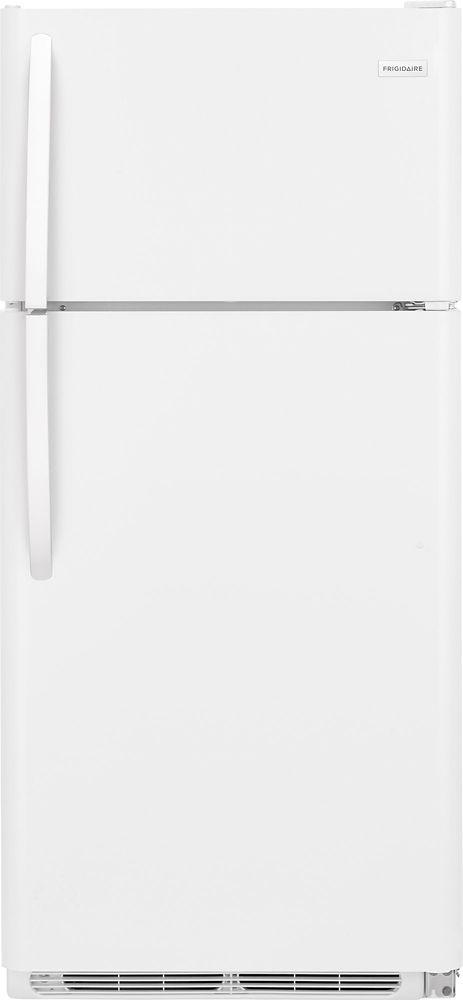 30-inch W 18 cu. ft. Top Freezer Refrigerator in White