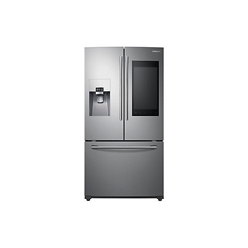 36-inch W 24 cu.ft. Smart French Door Refrigerator with Family Hub in Stainless Steel - ENERGY STAR®
