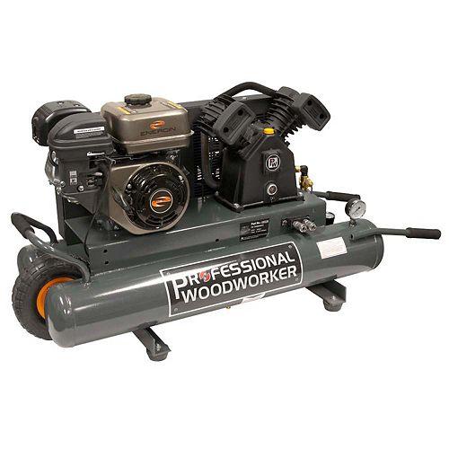 6.5 HP 9 Gallon Gas wheelbarrow Air Compressor