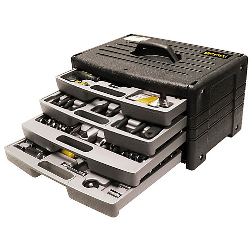 4-Drawer Tool Chest with 105-Piece Tool Kit