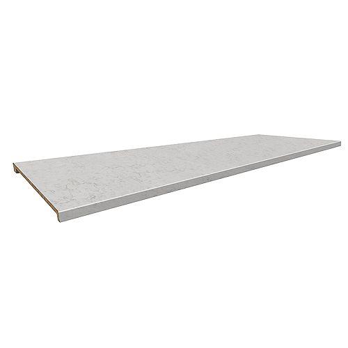 6314-43 Profile 2700 Island Bartop 26-3/4 inch x 96 inch Laminate Neo Cloud