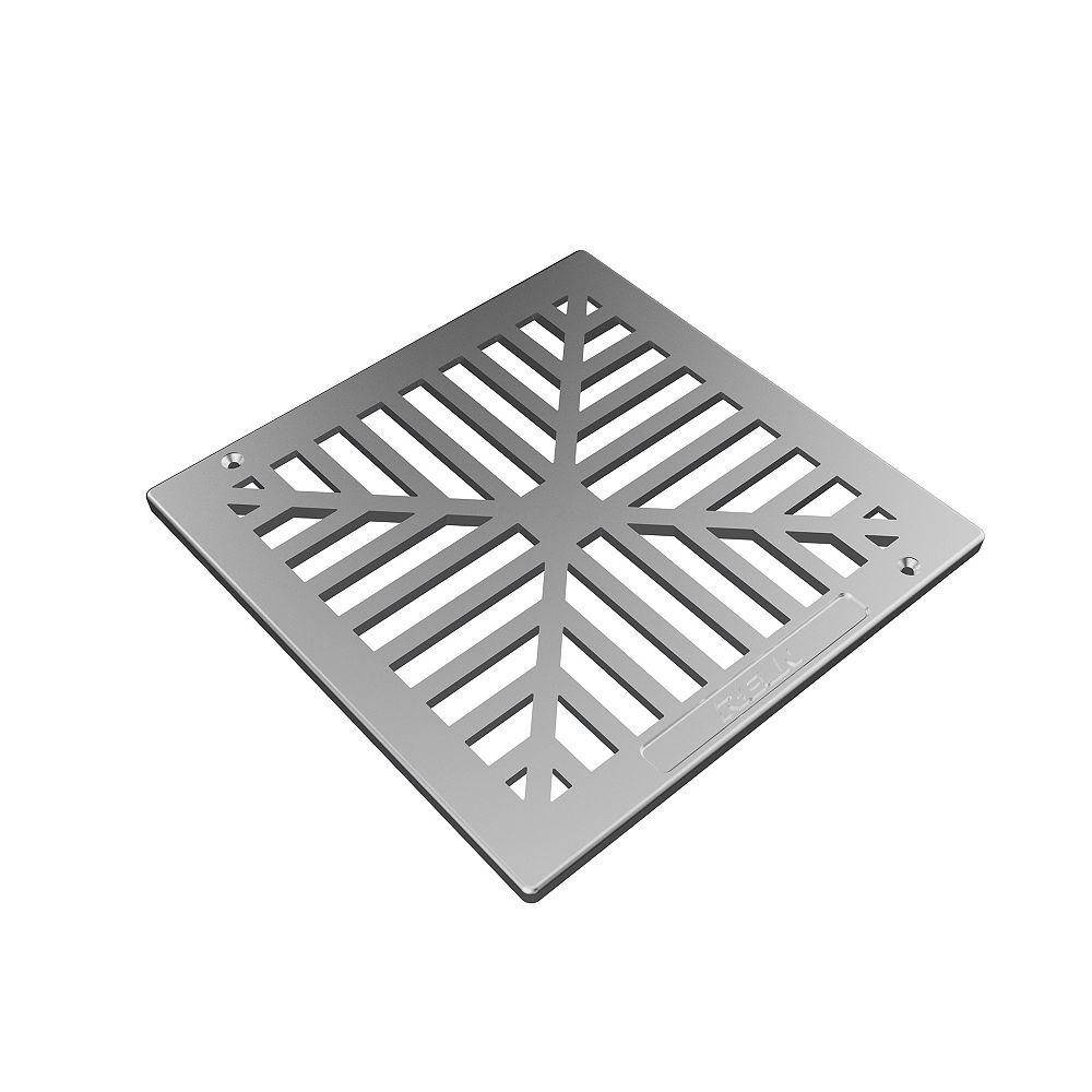 RELN 9 inch X 9 inch Aluminum Grate