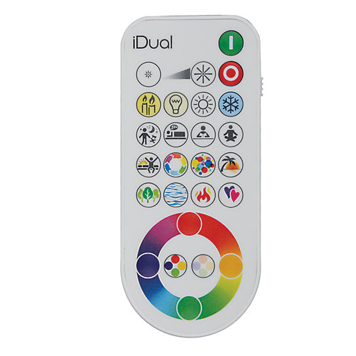 iDual Remote Control for iDual Bulbs and Light Fixtures