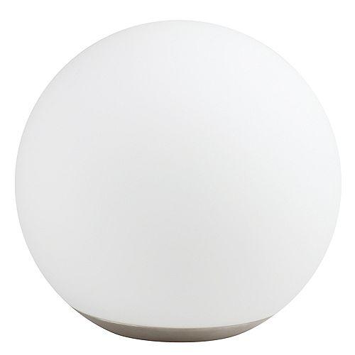Lampe de table iDual Dahlia en verre avec capacités de télécommande