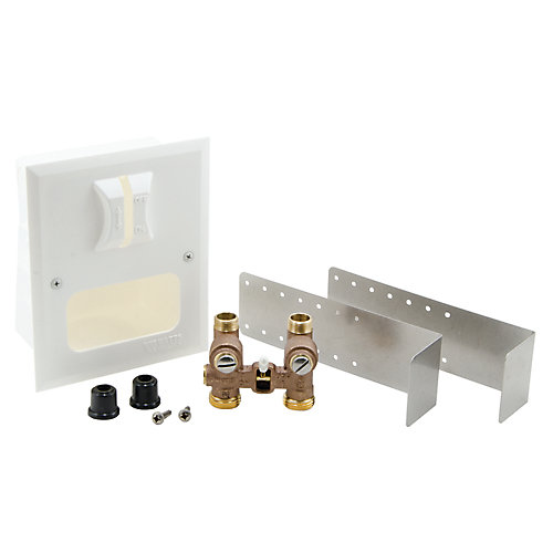 Duo-Cloz Water Shutoff with Decorative Wall Box - Series 2M2-DWB