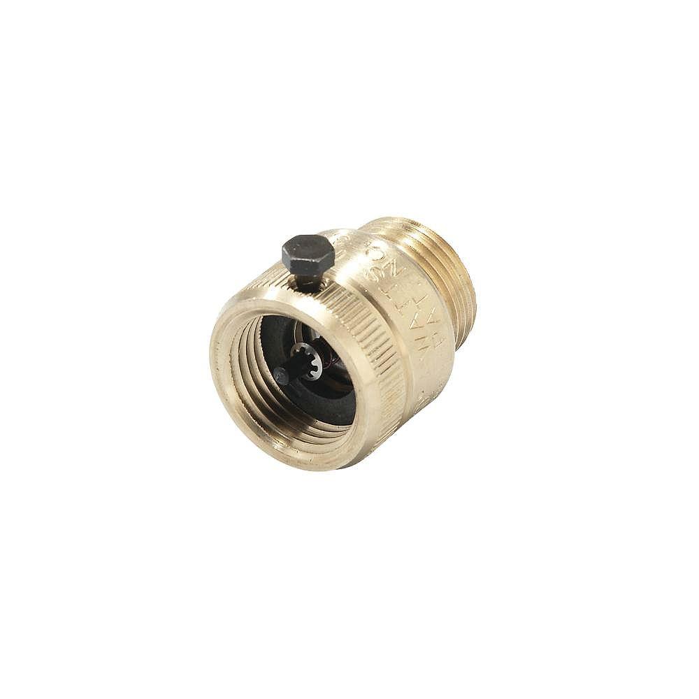 Watts 3/4 Inch Series 8B Hose Connection Atmospheric Vacuum Breaker w/ break away set screw