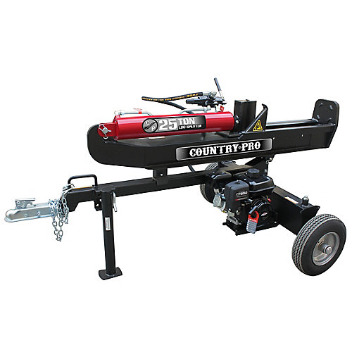 25 Ton Log Splitter with 208cc Briggs and Stratton Engine