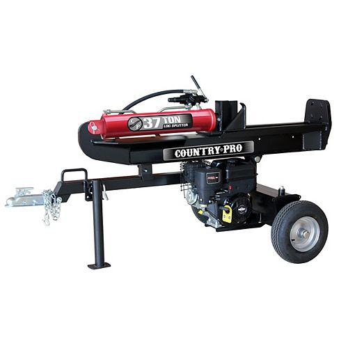 COUNTRY PRO 37T Log Splitter with a 306cc Briggs and Stratton engine