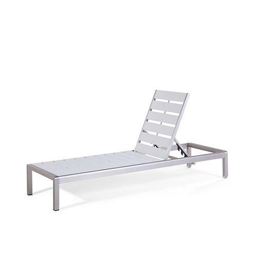 Outdoor Lounge Chair - White - NOVA
