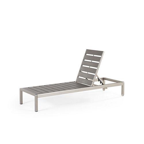Outdoor Lounge Chair - Grey - NOVA