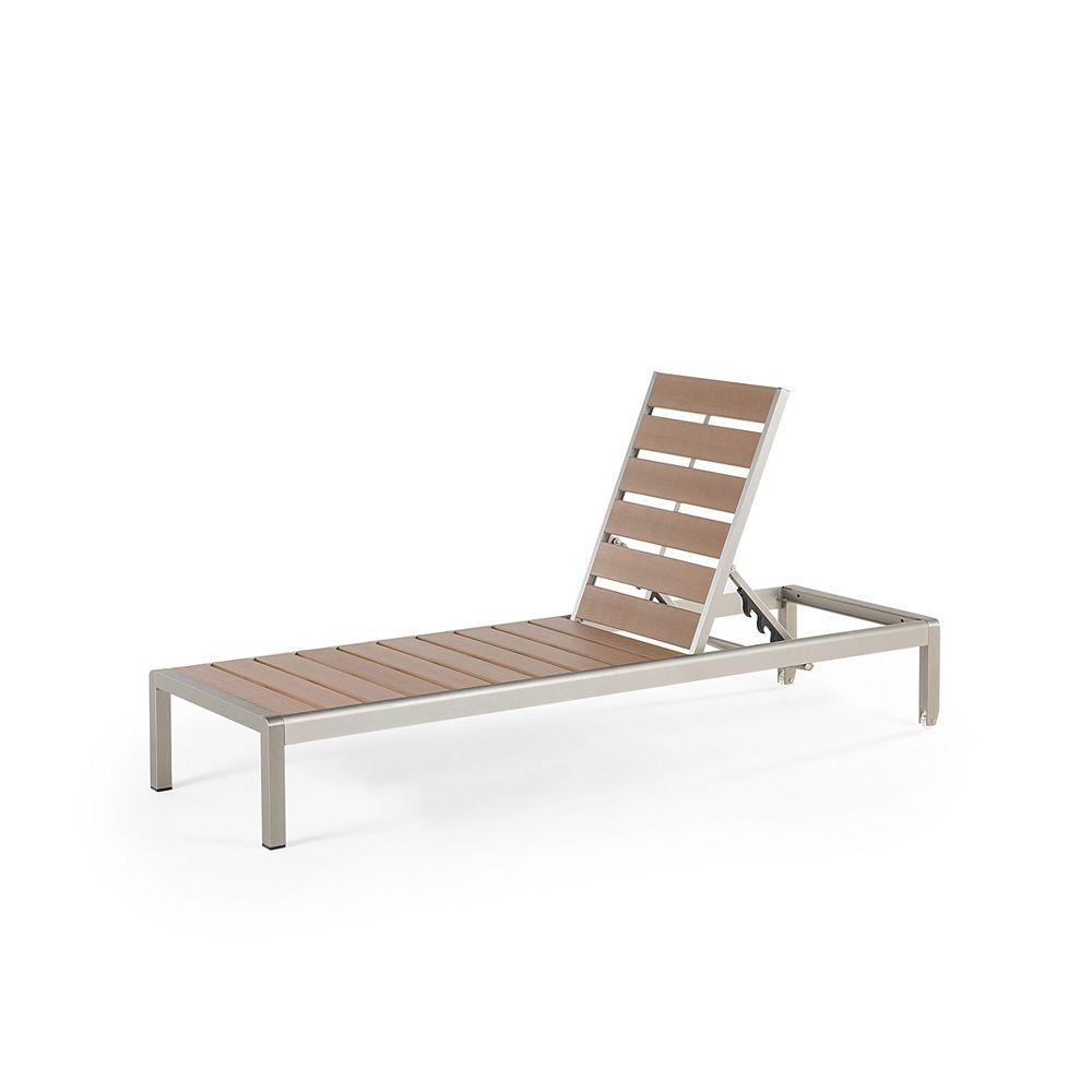 Velago Outdoor Lounge Chair - Brown - NOVA