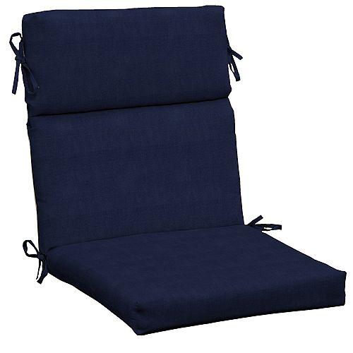 CushionGuard Midnight High Back Dining Chair Cushion