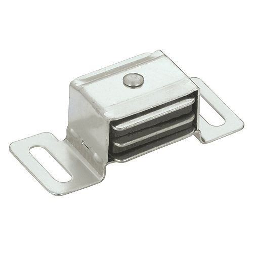 Richelieu (Pack of 10) 1 27/32 in (47 mm) Double Magnetic Catch, Aluminum