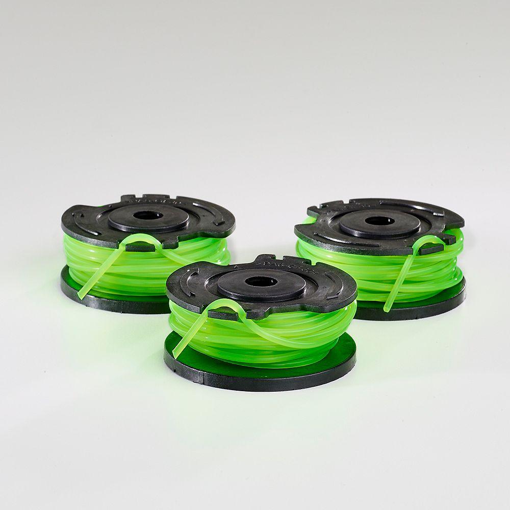 Toro PowerPlex 40V Max 0.080-inch Single Line Spool for 13-inch 40V Trimmers (3-Pack)