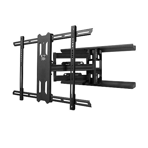 PDX680 Full Motion Mount for 39-inch to 80-inch TVs, Black