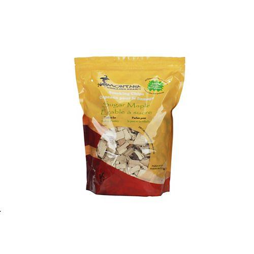 220 cu. inch Sugar Maple Smoking Wood Chips