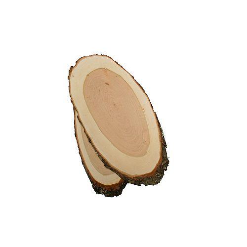 Planches à griller naturelles, coupe transversale, cerisier noir