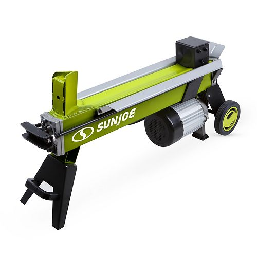 Sun Joe 15 Amp 5-Ton Electric Log Splitter with Hydraulic Ram