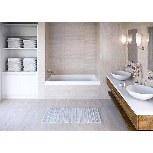 White Aura Alcove Bath Left Hand