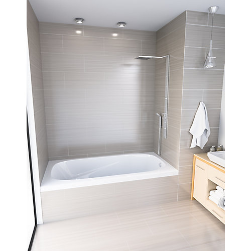 White Gryphon 3 Alcove Bath Right Hand