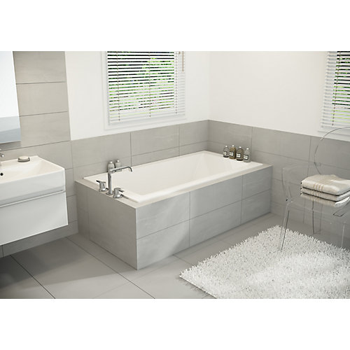 White Pur 2 Inch Drop In Bath