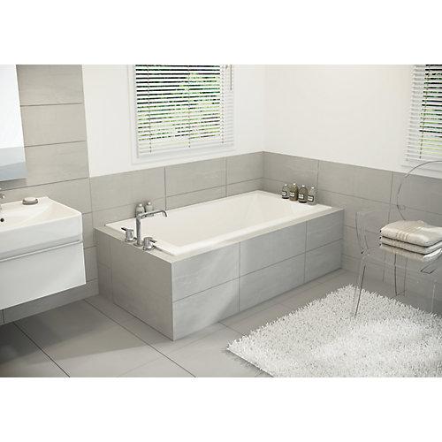 White Pur SlimLine Drop In Bath