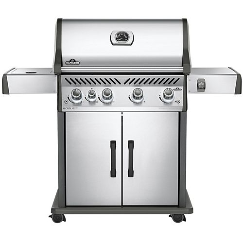 Napoleon Rogue SE 525 Propane BBQ with Infrared Side Burner in Stainless Steel