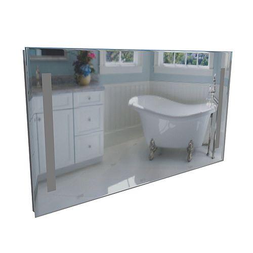 Bars Miroir Éclairé Par Lavabo