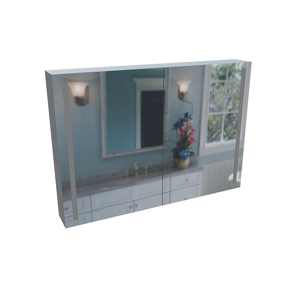 Valley Acrylic Bars Cabinet Miroir Éclairé Par Lavabo